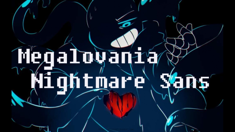 Megalovania Nightmare Sans Мегалования Найтмер Санса