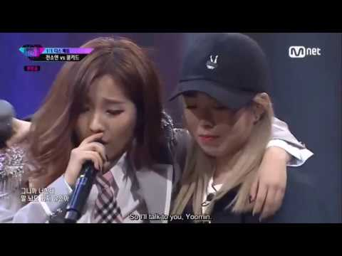 (ENG SUB) [Unpretty Rapstar 3 Ep. 4] Jeon Soyeon vs Coolkid @1v1 Diss Battle