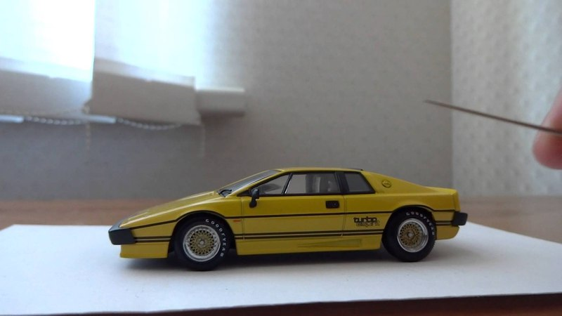 1981 Lotus Esprit Turbo 143 AUTOart