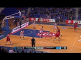 Buducnost VOLI vs Lokomotiv Kuban Highlights. Top16. 03.01.2018