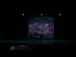 Osama Mimi Farag dancing street shaabi on gala-show of AL RAKESA Festival 2018!!!