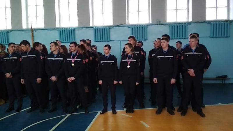Отделение техносферной безопасности. Победители краевого чемпионата!