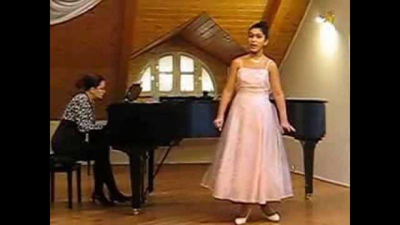 Песня Ольги из оперы Русалки (А. Даргомыжский)-Жанна Худавердян