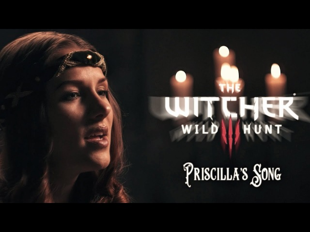 The Wolven Storm Priscilla's Song Witcher 3 Wild Hunt BELARUSIAN language cover