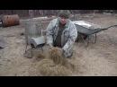 Дробилка кроличьей и козьей подстилки и дробление соломы для мульчи