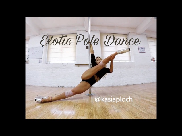 Exotic Pole Dance Elements - Kasia Ploch - Low Pole Floorwork Flow