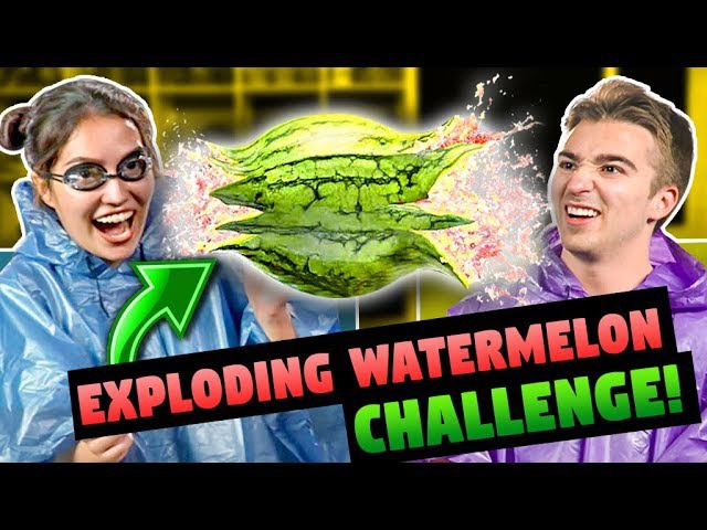Exploding Watermelon Challenge | FBE React