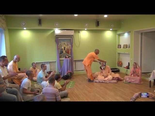 BVV Narasimha Swami, Srila Prabhupadas Appearance Day, Blagoveshchensk 16.08.2017