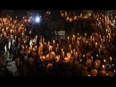 Unite The Right Torchlit March Towards Lee Park Through Charlottesville, VA