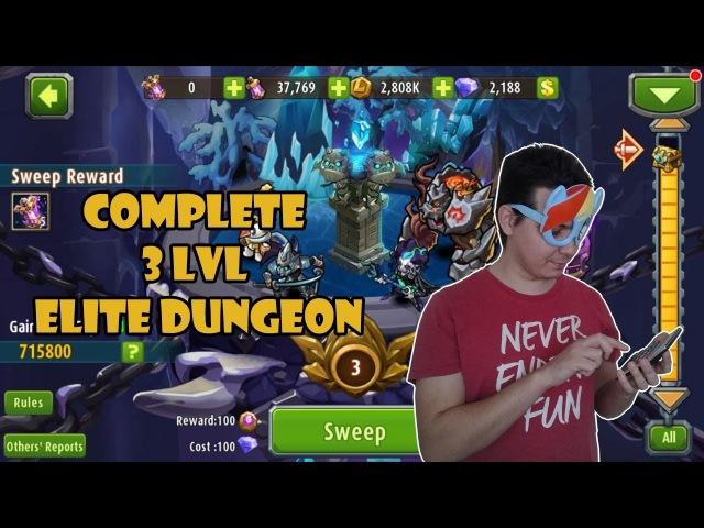 Magic Rush Heroes - LVL 3 Elite Dungeon