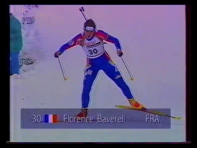 Биатлон-1996. Чемпионат Мира в Рупольдинге. Спринт. Женщины.