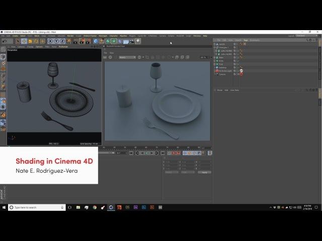 Cinema4D - Shading Tutorial