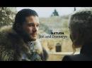 Jon and Daenerys 7x07 - Saturn HD