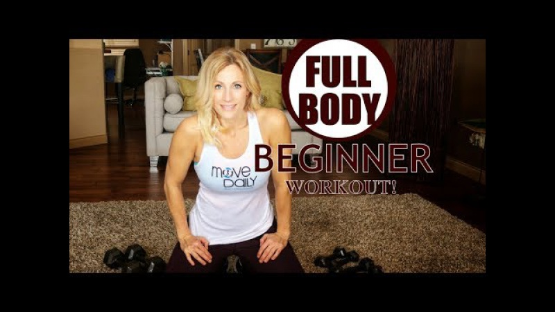 Full Body BEGINNER Workout! | At Home Weight and Cardio Workout