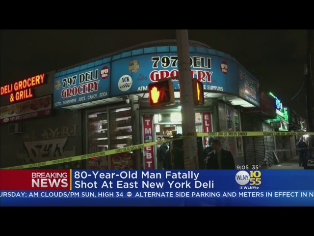 80-Year-Old Man Fatally Shot Inside Brooklyn Bodega