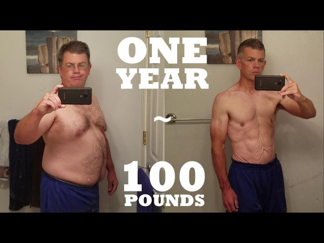 1 Year 100 lb Weight Loss - Mind Body Transformation