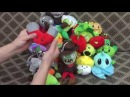 Плюшки-няшки Растения против Зомби / Plants vs. Zombies Plush Toys