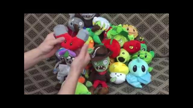 Плюшки-няшки: Растения против Зомби / Plants vs. Zombies Plush Toys
