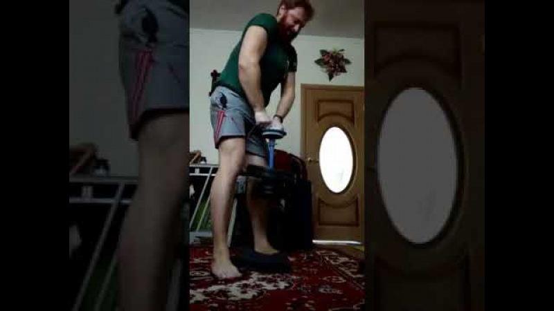 Evgeny Nikitin CRAB KEY HOLD 35 kg - 13 sec