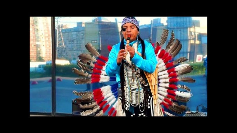 Вот это танец! Музыка индейцев. Индеец Инти. 24.05.2016 (880)