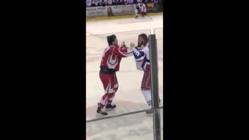 Chris Cloutier vs TKO Maxime Vachon LNAH 20-02-2016