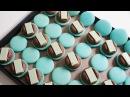 민트 초콜릿 마카롱 만들기 이탈리안머랭 Mint Chocolate Macarons 한세