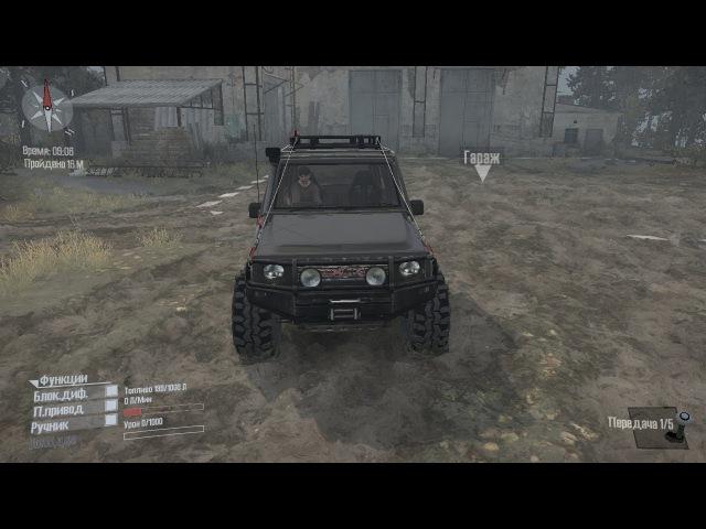 Spintires MudRunner Daihatsu Taft GT v26 10 17