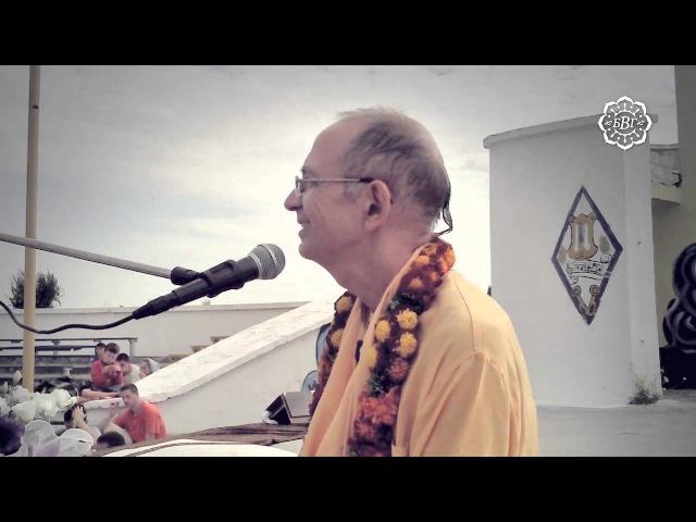 2013.09.18 - Встреча с учениками (фестиваль Бхакти Сангама) - Бхакти Вигьяна Госвами