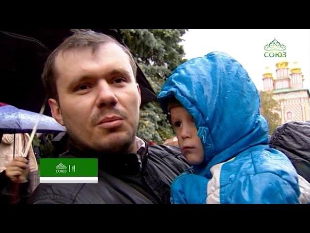 В Троице-Сергиевой Лавре состоялся чин отпевания и погребения архимандрита Нау ...