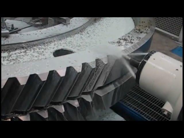 Как делают шестерни