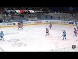 Моменты из матчей КХЛ сезона 1617  Гол. 21. Шумаков Сергей (Сибирь) забрасывает шайбу в ворота соперника в большинстве 20.10