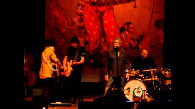 Tangerine Robert Plant and The Band of Joy, Ann Arbor, MI 01 21 2011. Hill Auditorium