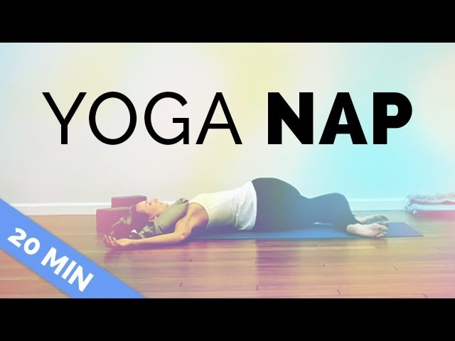 Yoga for When You're Tired | Restorative Yoga For Exhaustion | Yoga Nap (20-Min)