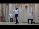 Африканец, армянин и азербайджанец танцуют лезгинку ROMB