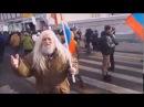 Волшебник Иван Кулебякин на шествии памяти Бориса Немцова 25 02 2018