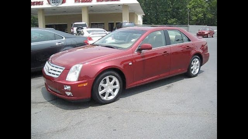 2005 Cadillac STS V8 Start Up, Exhaust, and In Depth Tour