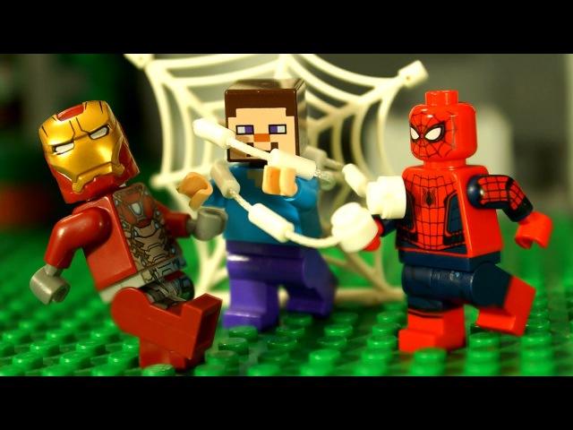 СуперГерои для Детей Человек-Паук: Возвращение Домой LEGO Marvel Super Heroes Мультики Май ...