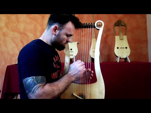 Seikilos Epitaph Improvisation on Tenor Gallic lyre - Benjamin Simao