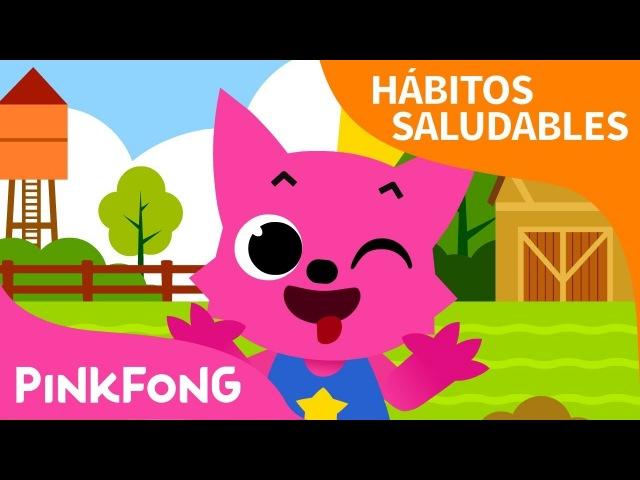 Aquí Está | Hábitos Saludables | Pinkfong Canciones Infantiles
