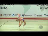 FURSE Laura (NZL) - 2016 Aerobic Worlds, Incheon (KOR) - Qualifications Individual Women