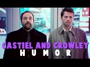 Castiel and crowley ● together again HUMOR