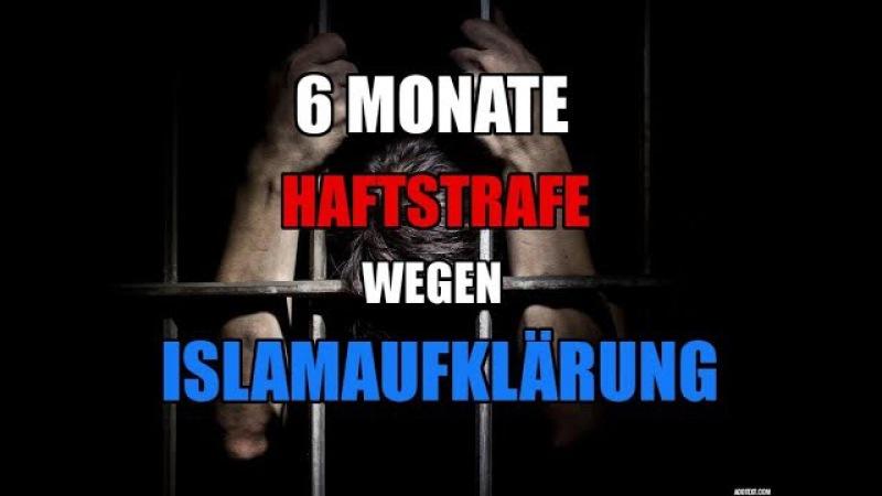 6 Monate Haftstrafe wegen Islamaufklärung Michael Stürzenberger im Gespräch