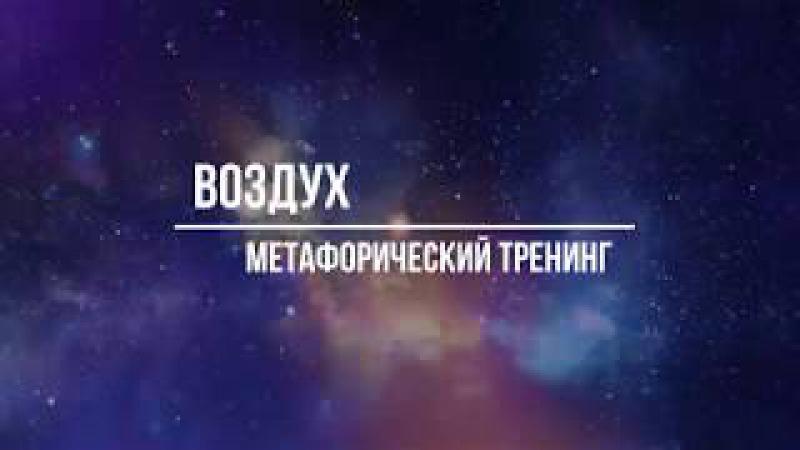 Метафорический тренинг Воздух Михаил Петушков