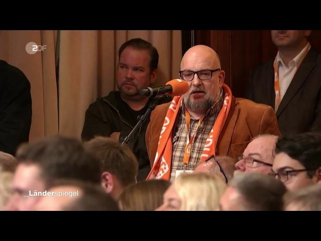 ZDF: CDU-Mitglied: Wir sind hier nicht in der SED, sondern in der CDU, Frau Angela Merkel!