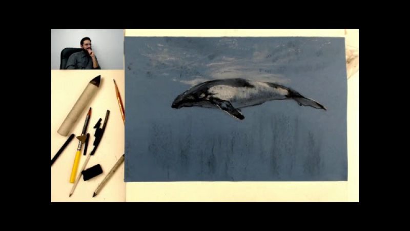 Художник под водой - Графика