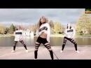 Девушки танцуют драм степ. Гостеприимная Россия.