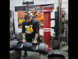 Джерри Притчет - лог лифт 150 кг