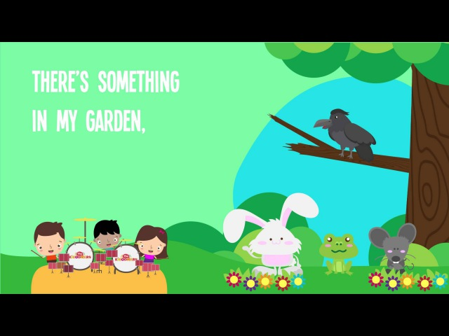 There's Something in My Garden Song Lyrics for Kids Animal Songs for Preschoolers