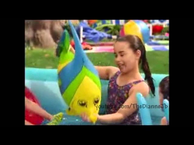 Selena Gomez and Demi Lovato singing on Barney!