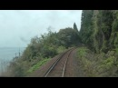 Japan Train. Anamizu - Wakura Onsen (Noto Railway) cab ride
